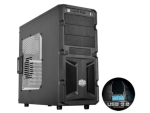 Cooler Master RC-K350-KWN1 K350 With Windowed Side Panel ATX Bla