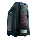 Cooler Master Trooper, Full Tower, Black, Windowed side panel, n
