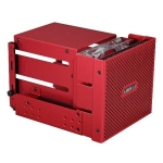 Lian Li EX-33R1, All Red, Aluminum HDD cage, internal with meshe