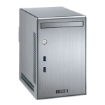 Lian Li PC-Q02, Mini Tower, Silver, with Internal 300w SFX PSU,