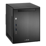 Lian Li PC-Q03, Mini Tower, Black, No PSU (use optional standard