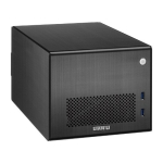 Lian Li PC-Q016, Mini Tower, Black, with Internal 300w SFX PSU,