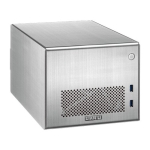 Lian Li PC-Q016, Mini Tower, Silver, with Internal 300w SFX PSU,