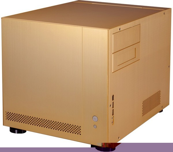 Lian Li PC-V351 Desktop / HTPC Chassis - Gold - No PSU