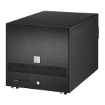 Lian Li PC-V355, Mini Tower, Black, No PSU, right/left side-acce
