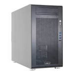 Lian Li PC-V700, Mid Tower, Black, No PSU (Front + Bottom Placed