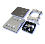 Intel APP3HSDBKIT - hot-swap drive mounting kit with fan - for u