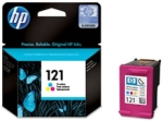 HP CC643HE No.121 Tri-Colour Ink Cartridge