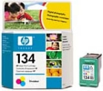 HP C9363HE No.134 Tri-Colour Ink Cartridge