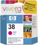 HP C9416A No.38 Magenta Pigment Ink Cartridge