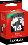 Lexmark #14 Black Return Program Print Cartridge