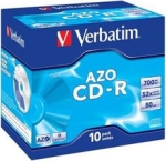Verbatim 52x CD-R - 10 pack, AZO
