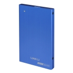 "Lian-li ex-10L Blue - 2.5"" Sata external enclosure USB 3.0"