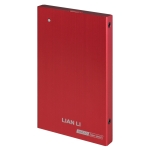 "Lian-li ex-10R Red - 2.5"" Sata external enclosure USB 3.0"