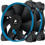 Corsair SP120 Quiet (Twin Pack), with white/blue/red colour ring