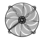 Bitfenix Spectre Transparent Blue LED Sickle Fan Blades 200mm Fa