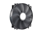 Cooler Master Megaflow Fan, BlacK, 200x200x30mm, 9 blades, sleev