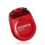 ADATA UD310 32GB Jewel Like Flash Drive, Red, ultra-slim jewel-l