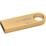 Kingston Datatraveler GE9 Gold with metal casing 16GB Flash Driv