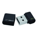 Kingston DTMCK Datatraveler Micro Black 16GB Flash Drive