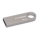 Kingston DTSE9H 8GB Datatraveler SE9 Silver Flash Drive