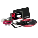 "Kingston SV300S3B7A/120G SSD Bundle kit with extra 2.5"" enclosur"