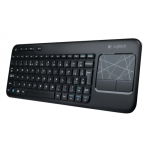 "Logitech Wireless Touch Keyboard K400, with built-in 3.5"" touch"