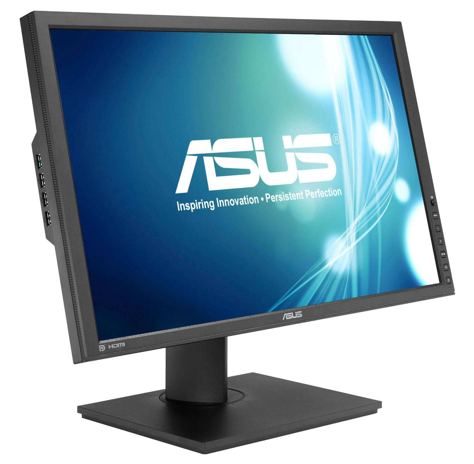 Asus PB248Q 24 Inch Full HD LED IPS Widescreen Monitor (VGA / DVI / HDMI / DP)