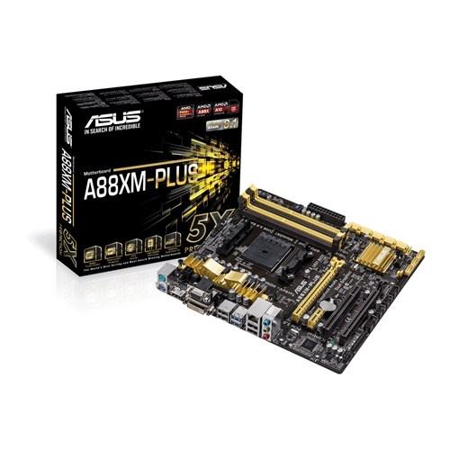 Asus AMD A88XM-Plus mATX Motherboard - Socket FM2 / FM2+