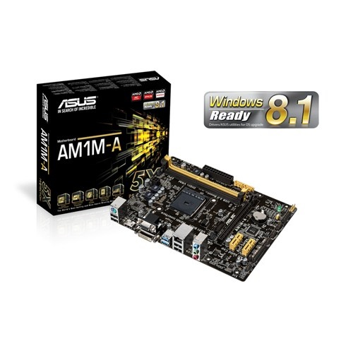 Asus AMD AM1M-A mATX Motherboard - Socket AM1