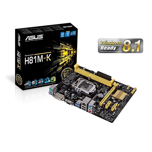 Asus H81M-K : all-in-one LGA1150 Motherboard