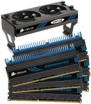Corsair Dominator 24GB DDR3-1333 Kit (6x4GB) - CL9, 1.5V, Fan