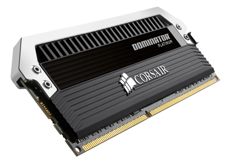 Corsair Dominator Platinum DDR3 2400MHz CL11 Desktop Memory Modules - 16GB Kit (4 x 4GB)