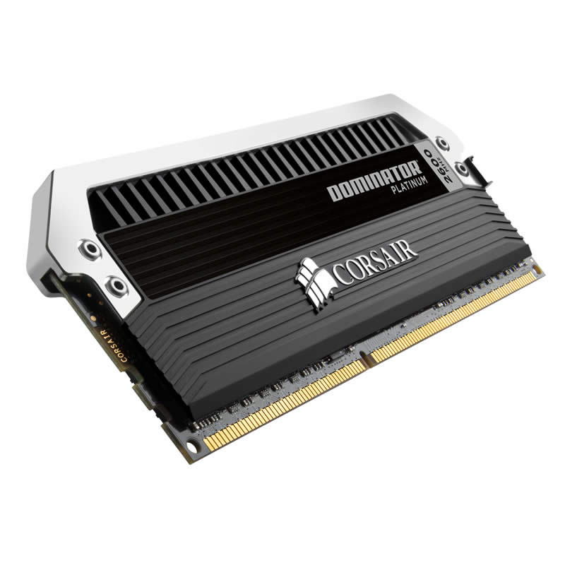 Corsair Dominator Platinum DDR3 2666MHz CL12 Desktop Memory Module - 16GB Kit (4 x 4GB)