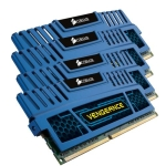 Corsair Vengeance with Blue heatsink 16GB(4x4GB) DDR3-1600 Deskt