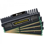 Corsair Vengeance 16GB DDR3-1600 Kit (4x4GB) - CL9 XMP Black