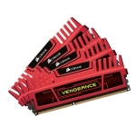 Corsair CMZ16GX3M4X1866C9R Vengeance 16GB (4 X 4GB) 240-Pin DDR3