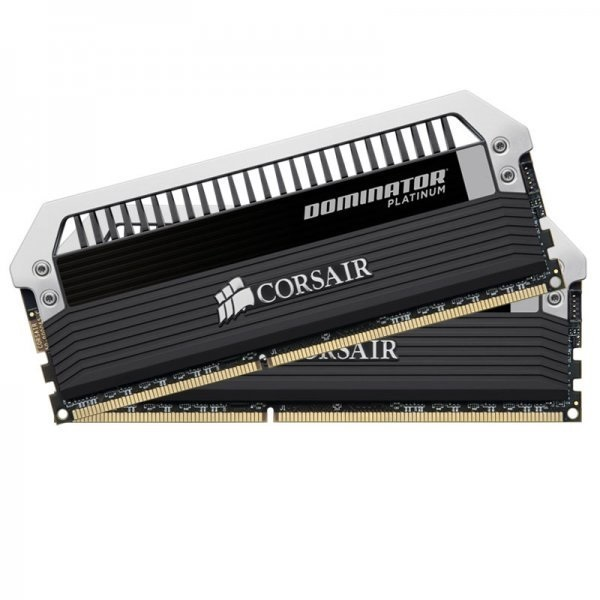 Corsair Dominator Platinum DDR3 1600MHz CL7 Desktop Memory Modules - 16GB Kit (2 x 8GB)