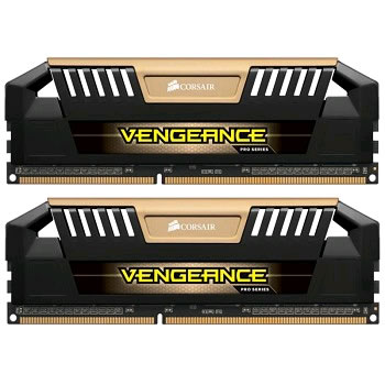 Corsair Vengeance Pro CMY16GX3M2A1600C9A, 16GB (2x 8GB) kit, DDR3-1600, CL9, 1.5