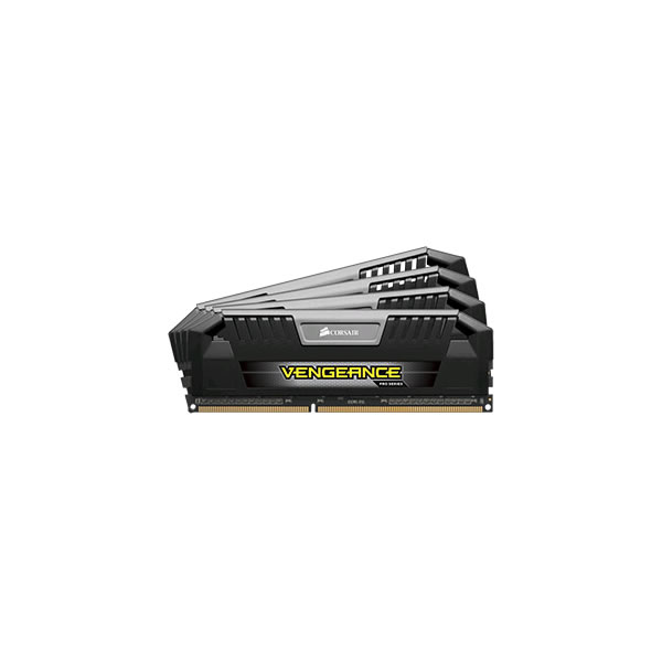 Corsair Vengeance Pro DDR3 1600MHz CL9 Desktop Memory Modules - 4 x 8GB (Black and Silver)