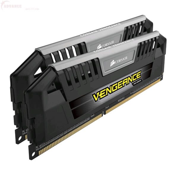 Corsair Vengeance Pro DDR3 1866MHz CL9 Desktop Memory Modules - 2 x 8GB (Black and Silver)