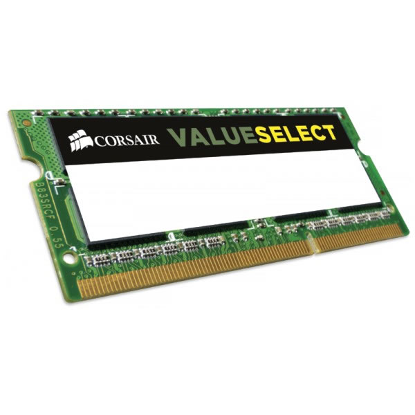 Corsair ValueSelect DDR3L 1333MHz CL9 Laptop Memory Module - 4GB
