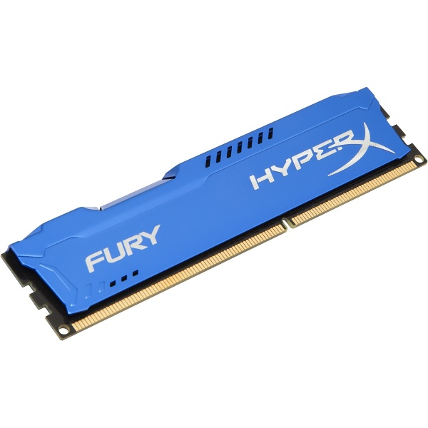 Kingston HyperX Fury DDR3 1866MHz CL10 Desktop Memory Module - 4GB (Blue)