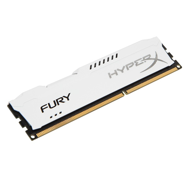 Kingston HyperX Fury DDR3 1866MHz CL10 Desktop Memory Module - 4GB (White)