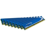 Kingston Hyper-X KHX16C9K8/64X, 64GB (8x 8GB) kit, DDR3-1600, CL