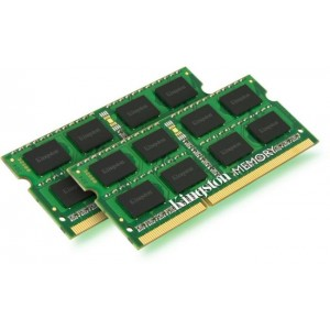 Kingston Valueram DDR3 1333MHz CL9 Laptop Memory Modules - 8GB Kit (2 x 4GB)