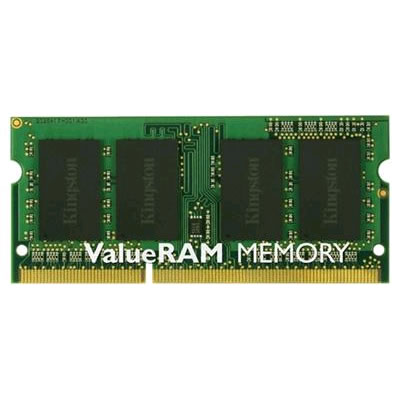 Kingston KVR16LS11/8 Valueram, 8GB, 204 pin so-dimm, DDR3L-1600 Low-voltage, CL1