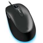 Microsoft Comfort mouse 4500 , black , with bluetrack technology