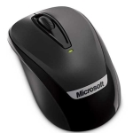 Microsoft Wireless Mobile 3000 Black Mouse