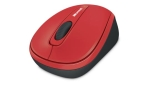 Microsoft Wireless Mobile 3500 Flame Red Bluetrack Wireless Note